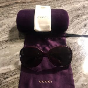 100% Authentic Gucci Sunglasses